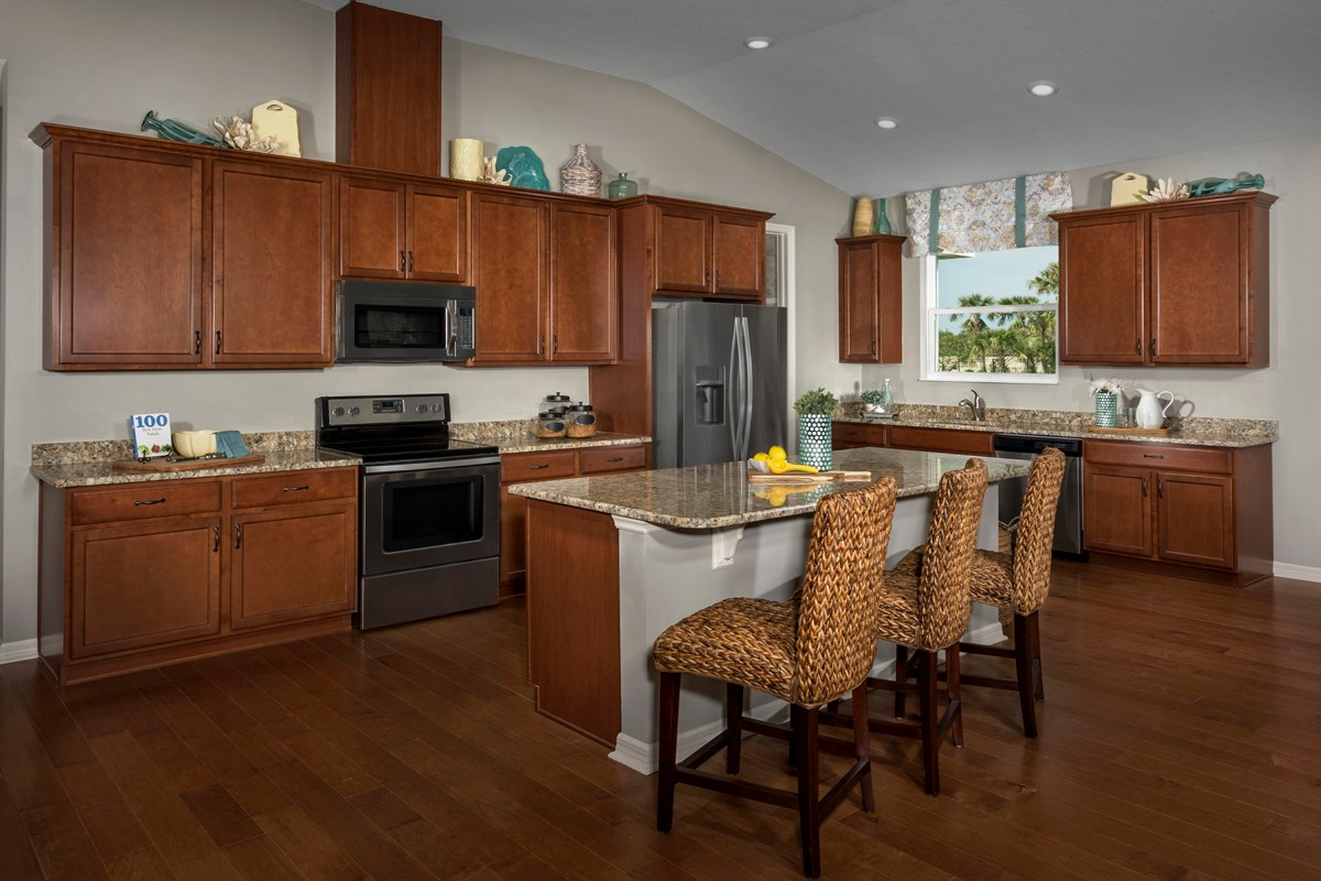 New Homes in Fort Myers, FL - Coves of Estero Bay Plan 2609 Kitchen
