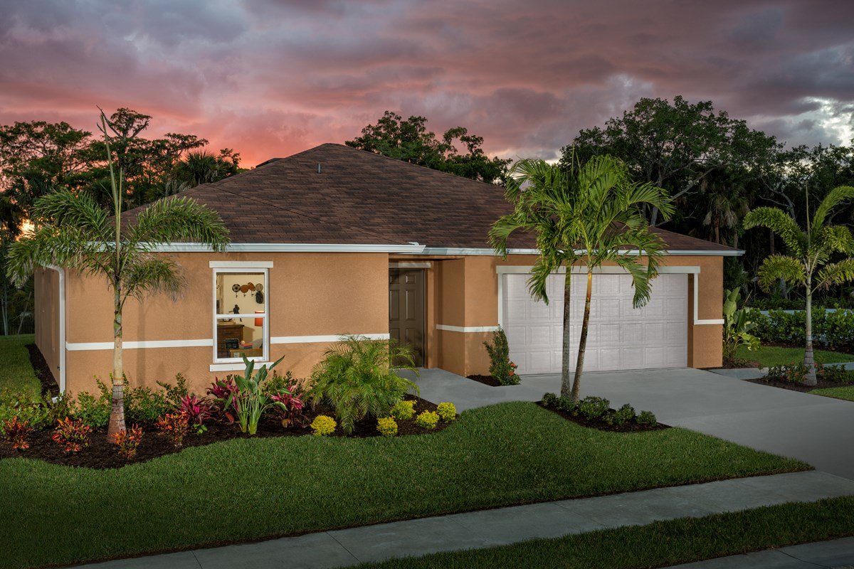 New Homes in Fort Myers, FL - Coves of Estero Bay Plan 1585 Exterior