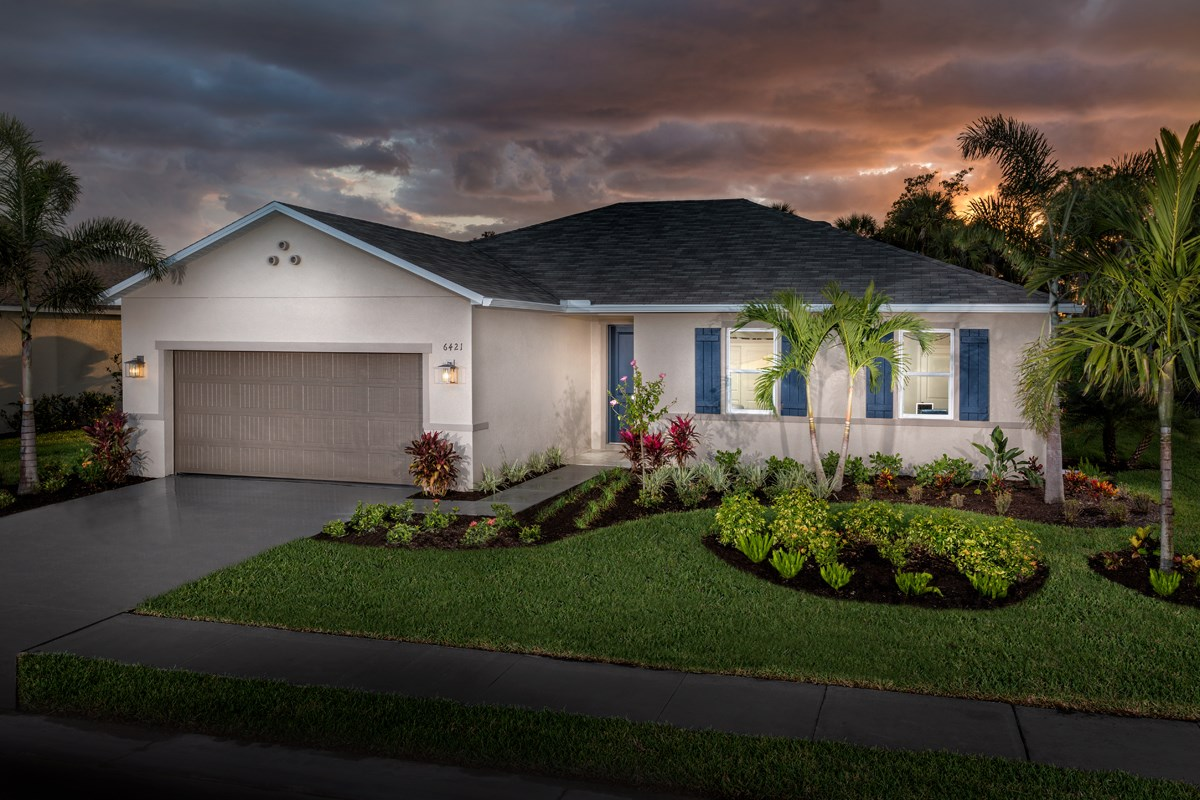 New Homes in Fort Myers, FL - Coves of Estero Bay Plan 1769 Exterior