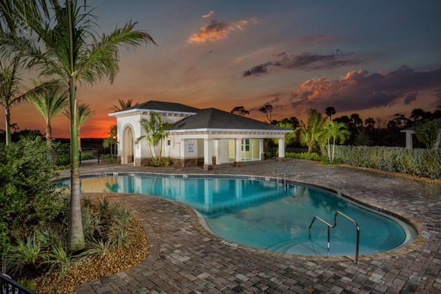 Pool amenity at a KB Home community in Fort Myers, FL