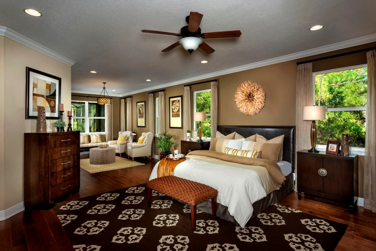 New Homes in Punta Gorda, FL - Oak Harbour Plan 2545 Master Bedroom