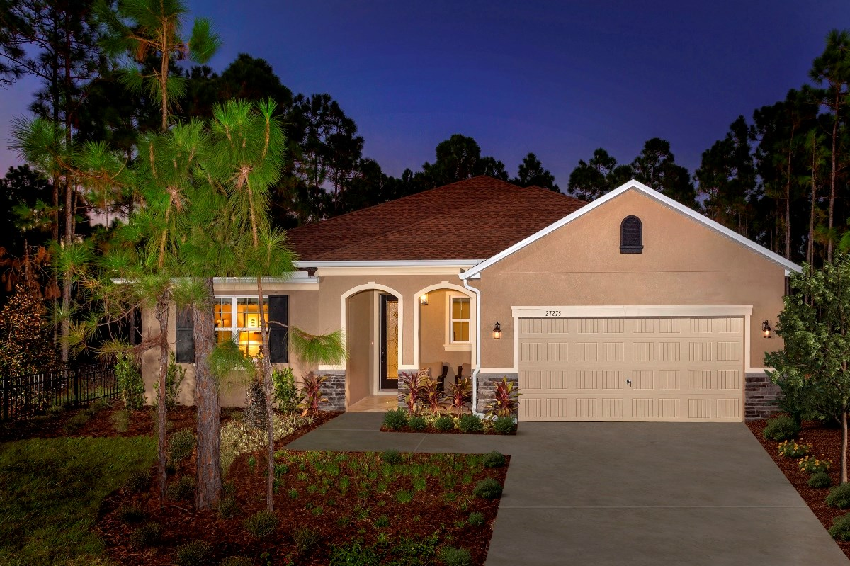 New Homes in Punta Gorda, FL - Oak Harbour Plan 2545 Exterior