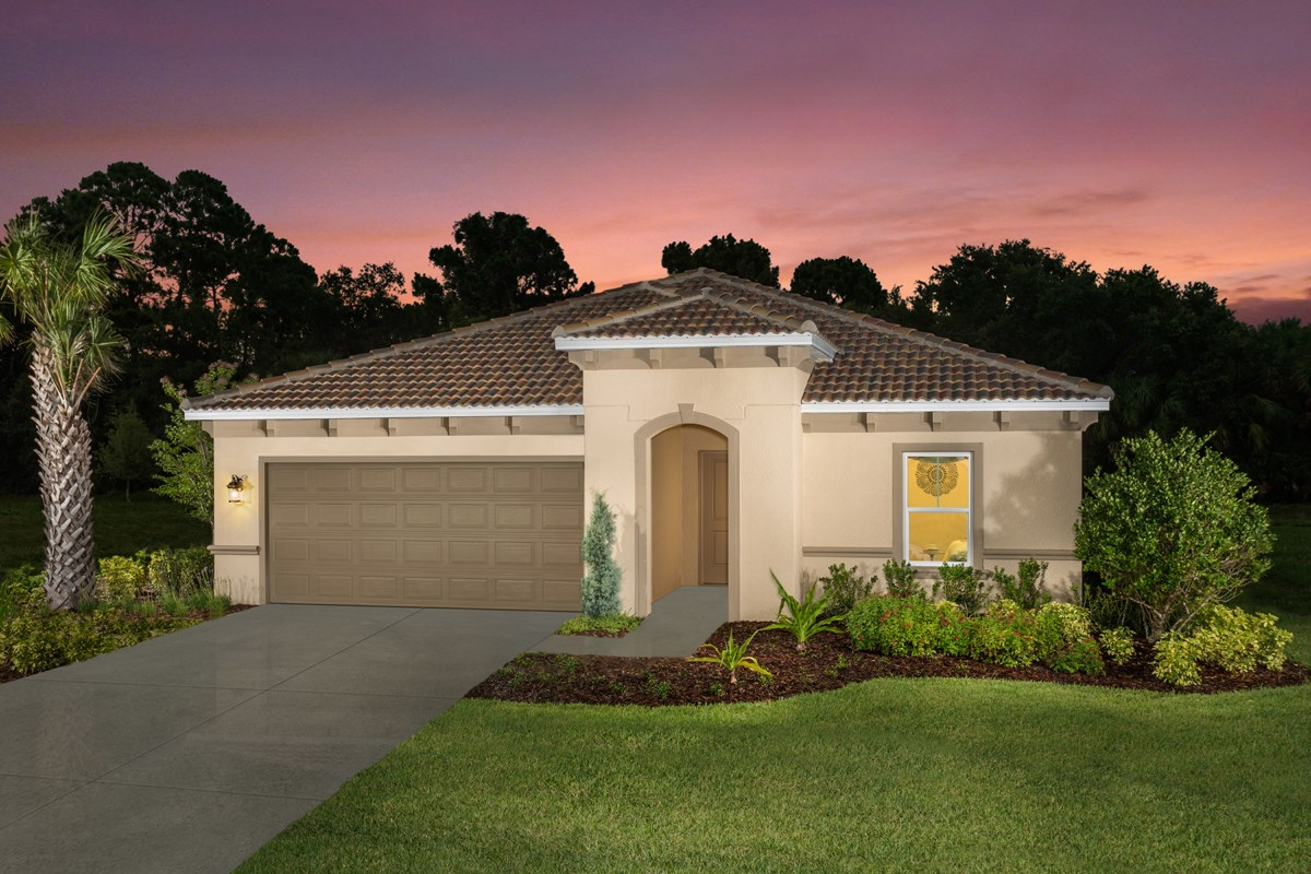 New Homes in Venice, FL - Stoneybrook at Venice Plan 2003 Exterior