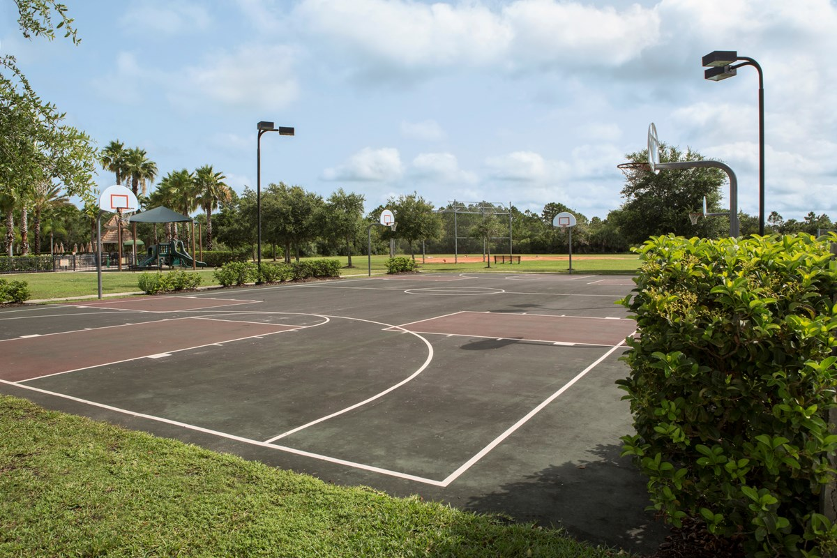 New Homes in Venice, FL - Stoneybrook at Venice Community Basketball Court