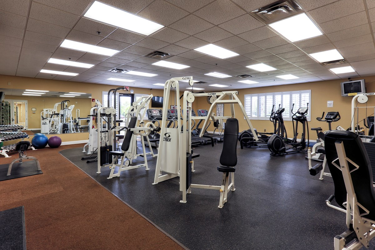 New Homes in Venice, FL - Stoneybrook at Venice Community Fitness Room