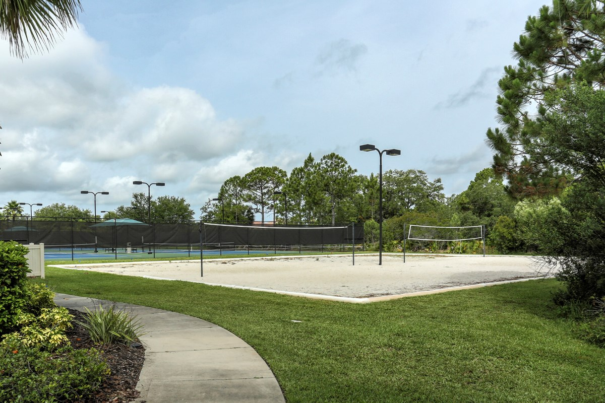 New Homes in Venice, FL - Stoneybrook at Venice Community Sand Volleyball Court