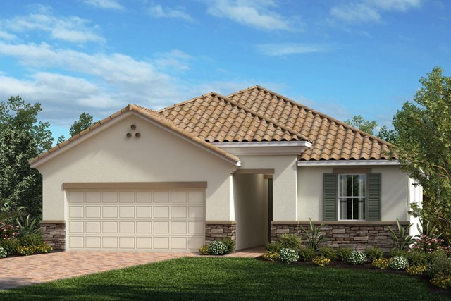 New Homes in Venice, FL - Elevation X with Stone