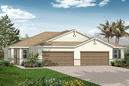 New Homes in Punta Gorda, FL - Plan 1311 Front View