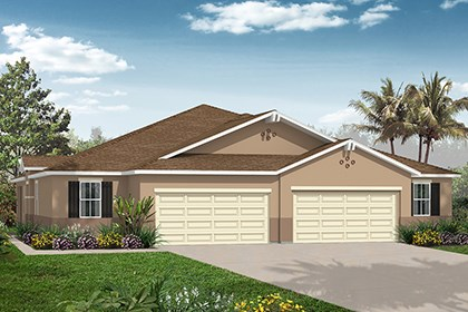 New Homes in Punta Gorda, FL - Plan 1464 Front View