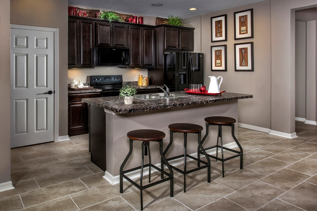 New Homes in Punta Gorda, FL - Tuscany Isles Plan 1311 Kitchen