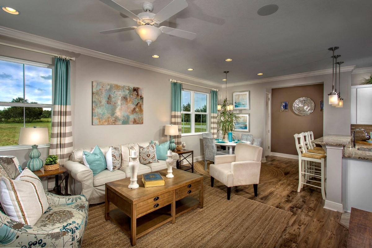 New Homes in Punta Gorda, FL - Tuscany Isles Plan 1523 Great Room