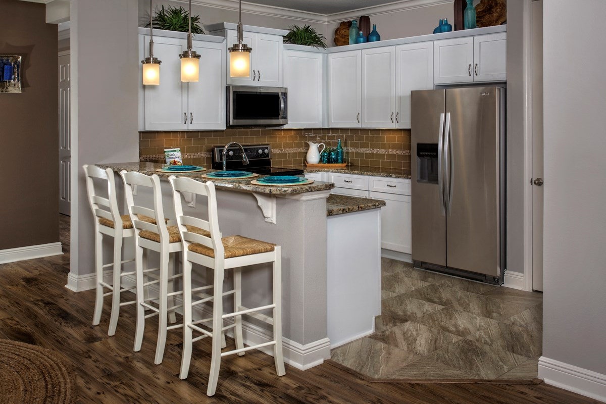 New Homes in Punta Gorda, FL - Tuscany Isles Plan 1523 Kitchen