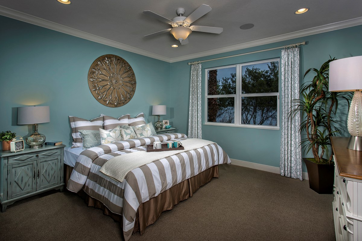 New Homes in Punta Gorda, FL - Tuscany Isles Plan 1523 Master Bedroom