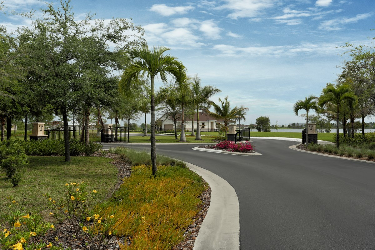 New Homes in Punta Gorda, FL - Tuscany Isles Gated Entrance