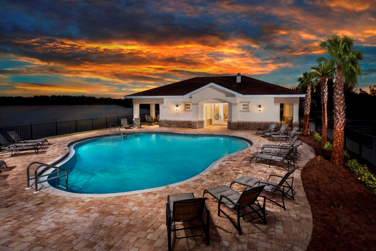 New Homes in Punta Gorda, FL - Tuscany Isles Community Pool and Clubhouse