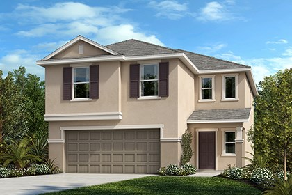 New Homes in Gibsonton, FL - Elevation B