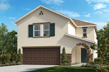 New Homes in Gibsonton, FL - Elevation C with Stone