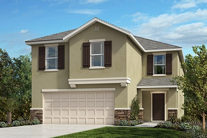 New Homes in Gibsonton, FL - Elevation D with Stone
