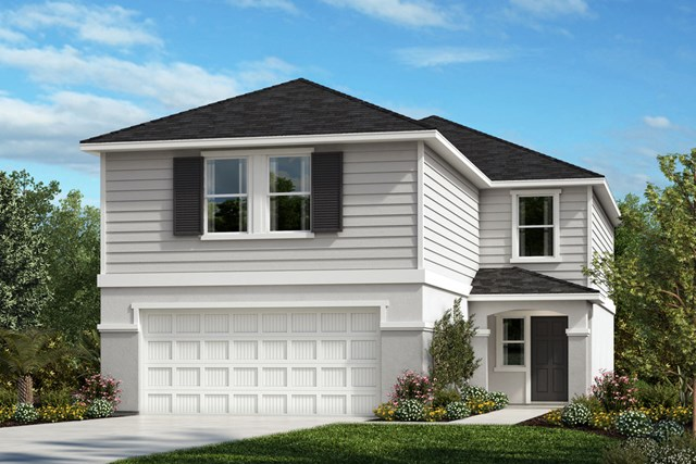 New Homes in Gibsonton, FL - Elevation E