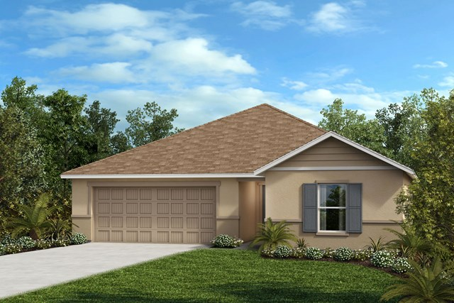 New Homes in Seffner, FL - Plan 1541 Elevation F