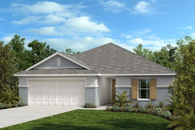 New Homes in Seffner, FL - Plan 1707 Elevation F