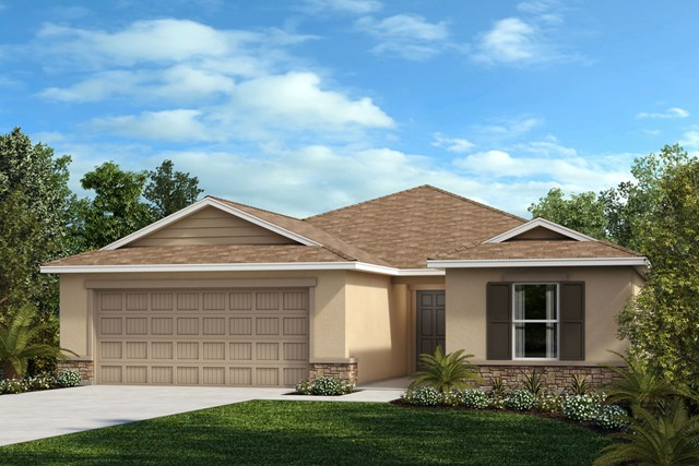 New Homes in Seffner, FL - Elevation F Stone