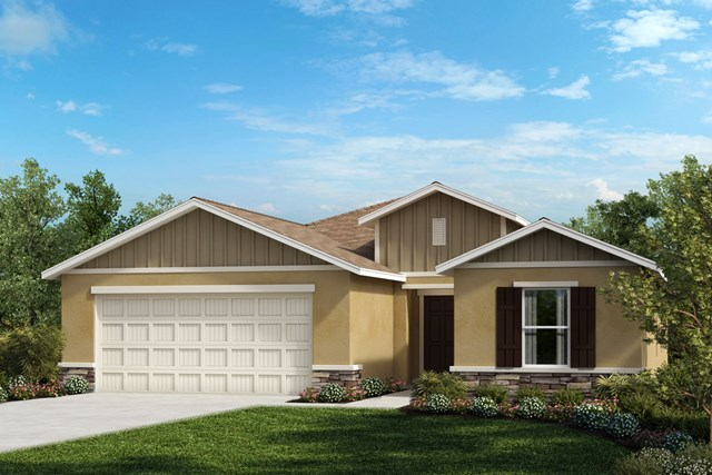 New Homes in Seffner, FL - Elevation G Stone