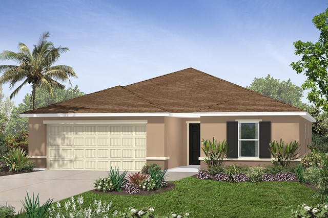 New Homes in Seffner, FL - Plan 2003 Elevation A