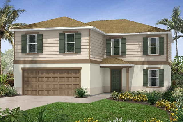 New Homes in Seffner, FL - Plan 2550 Elevation E