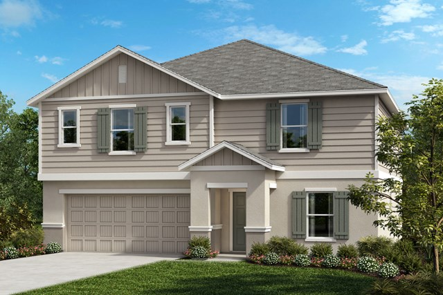 New Homes in Seffner, FL - Plan 2716 Elevation G