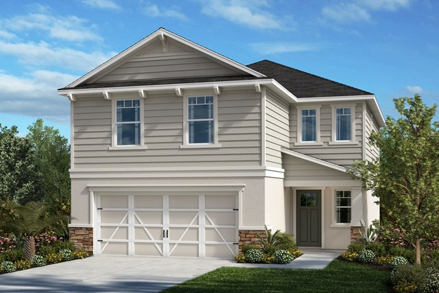 New Homes in Seminole, FL - Plan 1908 Elevation I w/ Stone