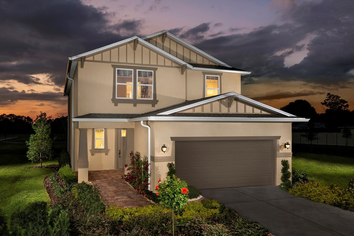New Homes in Seminole, FL - Artisan Preserve Plan 2851 as modeled at Seminole Groves