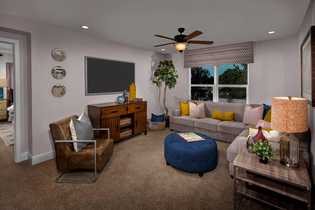 New Homes in Seminole, FL - Artisan Preserve Plan 2851 Loft as modeled at Seminole Groves