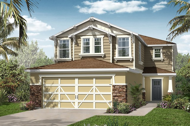New Homes in Seminole, FL - Elevation E with Stone