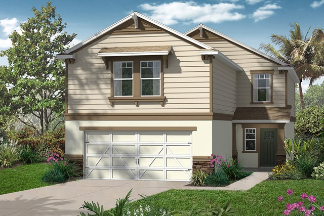 New Homes in Seminole, FL - Elevation D with Stone