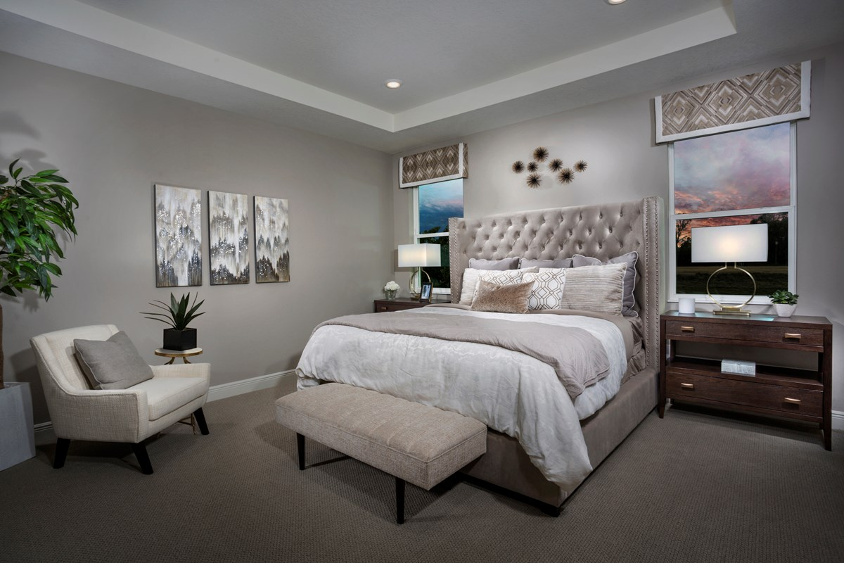 New Homes in Bradenton, FL - Avaunce 2333 Master Suite