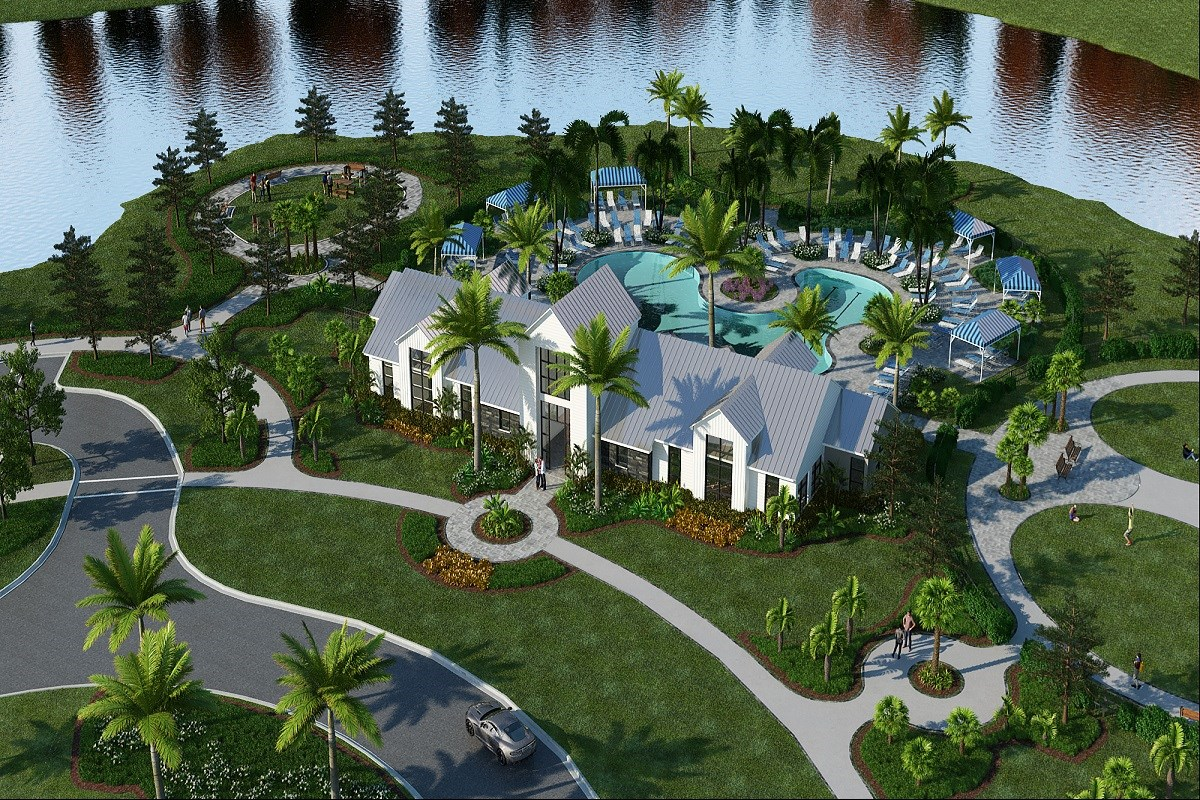 New Homes in Parrish, FL - Brightwood at North River Ranch Planned Amenity Center & Clubhouse