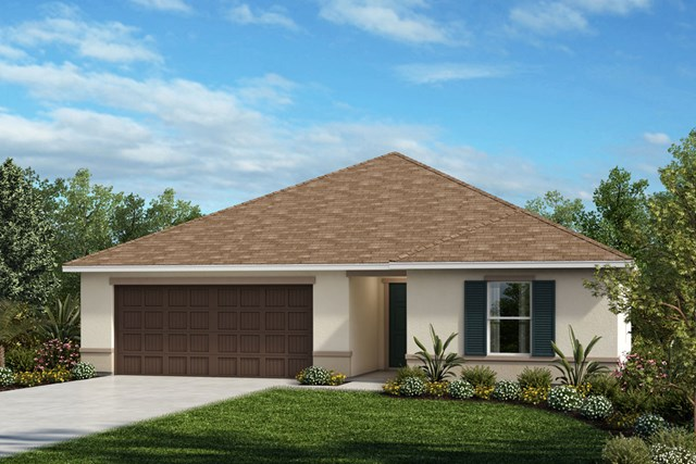 New Homes in Seffner, FL - Plan 1286 Elevation A