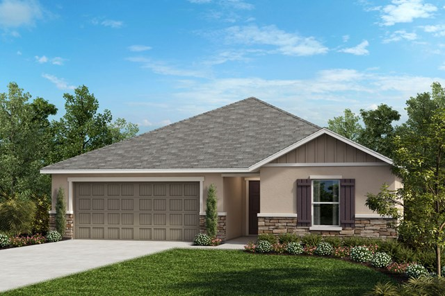 New Homes in Seffner, FL - Plan 1286 Elevation G Stone