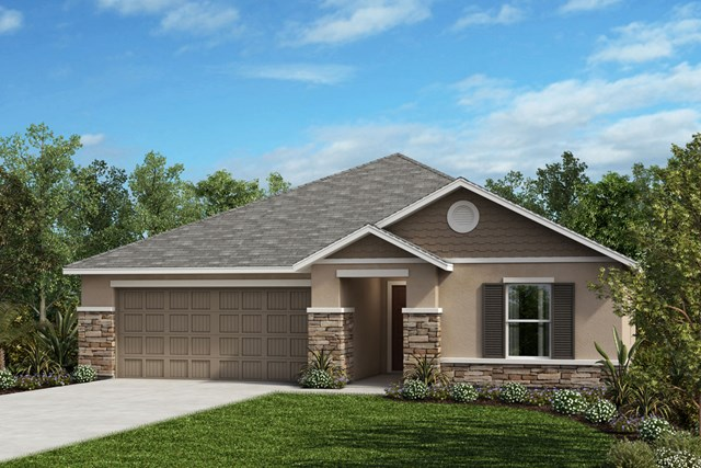 New Homes in Seffner, FL - Plan 1286 Elevation H Stone