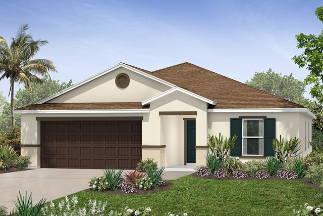 New Homes in Seffner, FL - Plan 2003 Elevation B