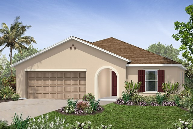 New Homes in Seffner, FL - Plan 2003 Elevation C