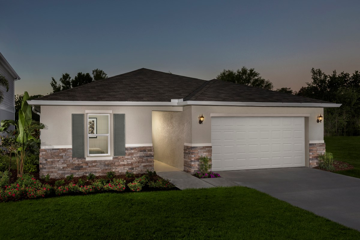 New Homes in Seffner, FL - Freedom Ridge 1707 Exterior
