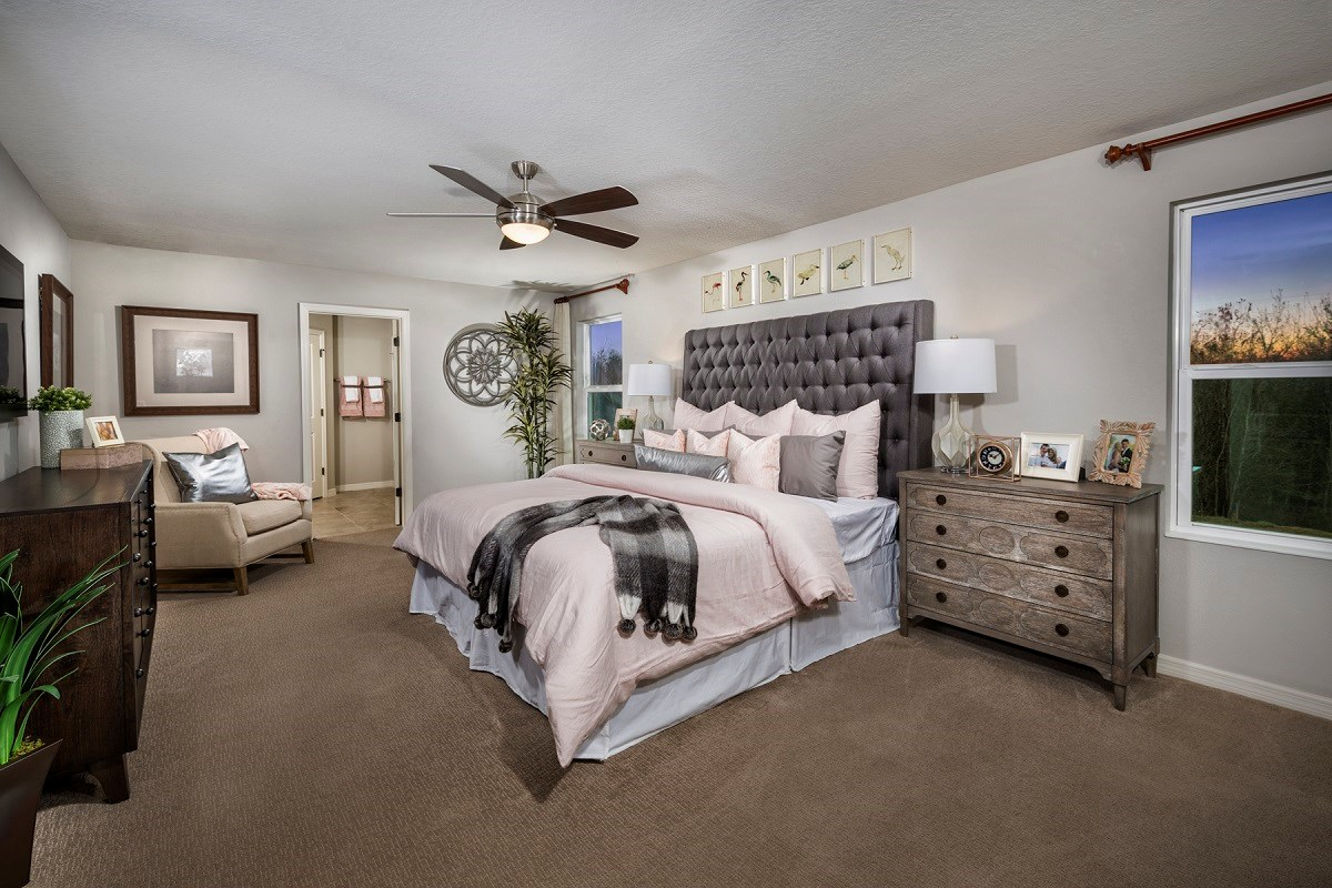 New Homes in Seffner, FL - Freedom Ridge 2550 Master Suite