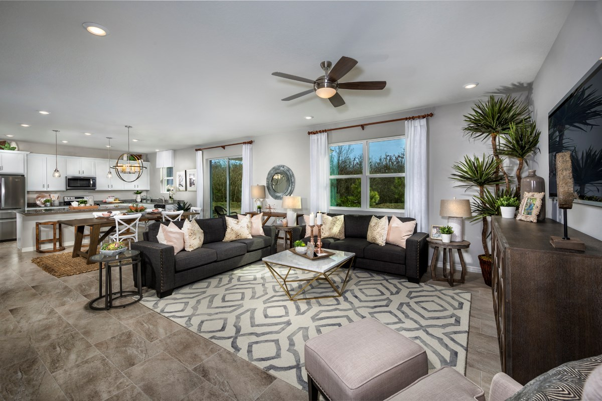 New Homes in Seffner, FL - Freedom Ridge 2550 Great Room