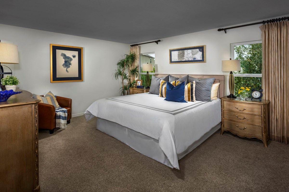 New Homes in Riverview, FL - Ibis Cove I at South Fork Plan 1865 Master Bedroom