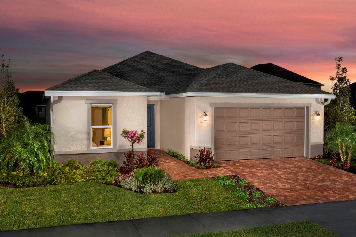 New Homes in Riverview, FL - Ibis Cove I at South Fork Plan 1865 Exterior