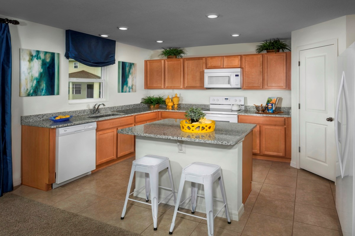 New Homes in Riverview, FL - Ibis Cove I at South Fork Plan 1865 Kitchen
