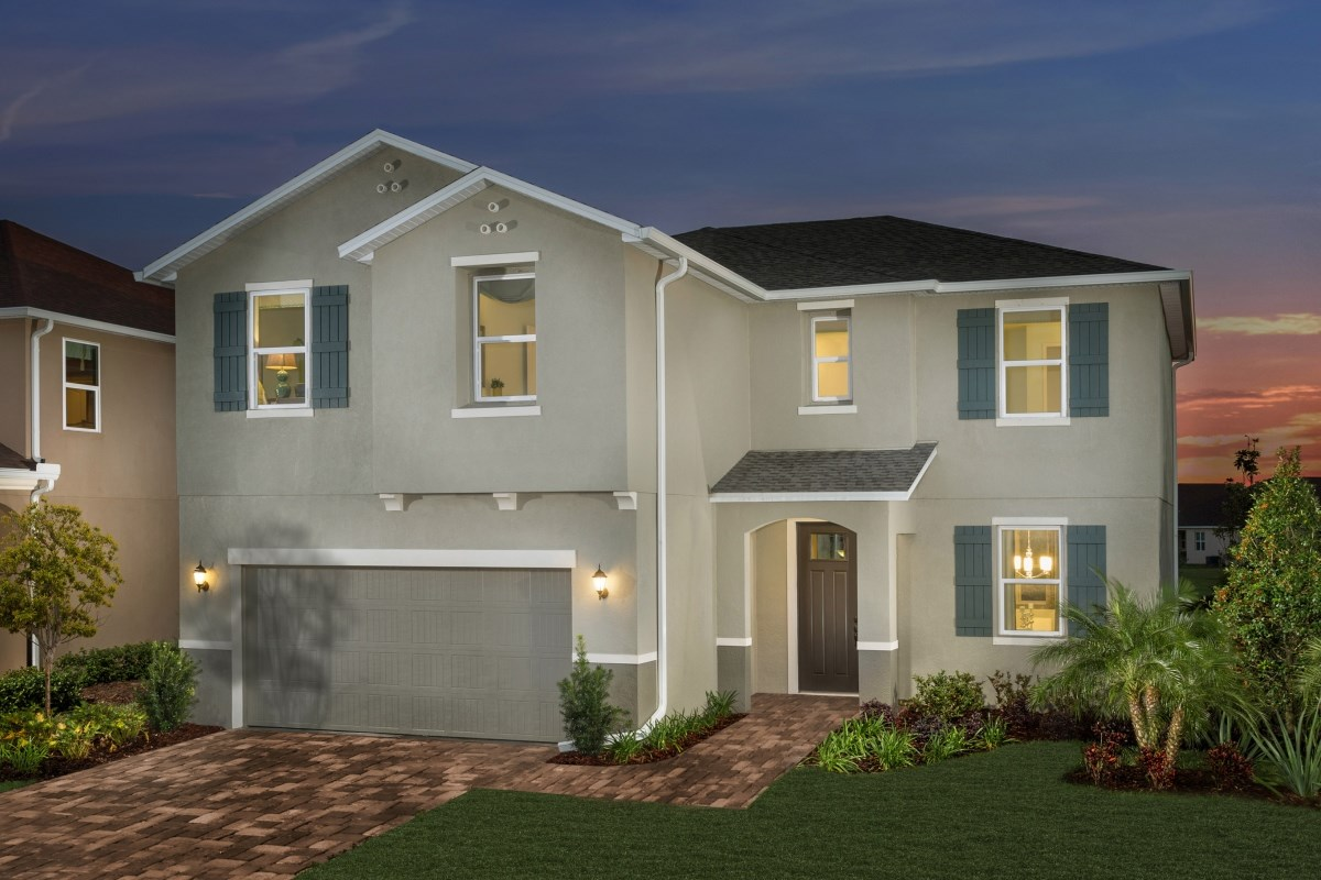 New Homes in Riverview, FL - Ibis Cove I at South Fork Plan 2550 Exterior