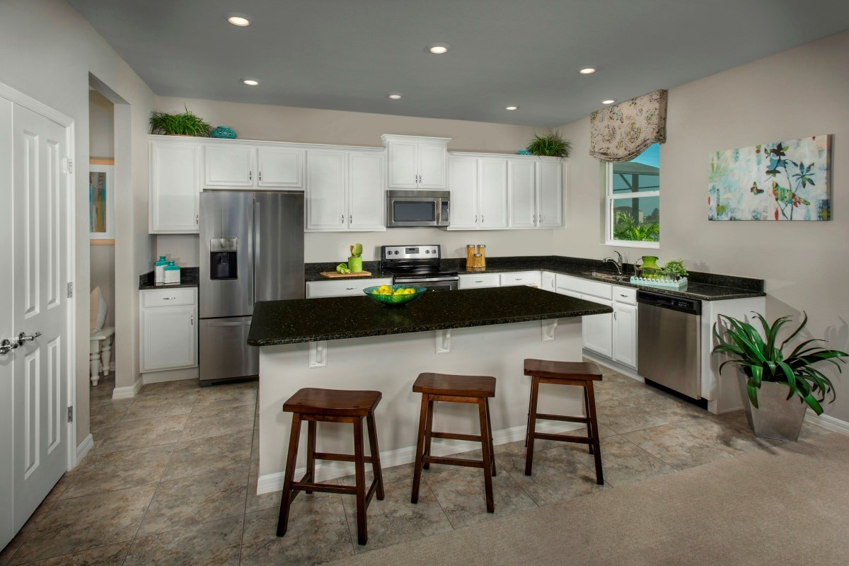 New Homes in Riverview, FL - Ibis Cove I at South Fork Plan 2550 Kitchen